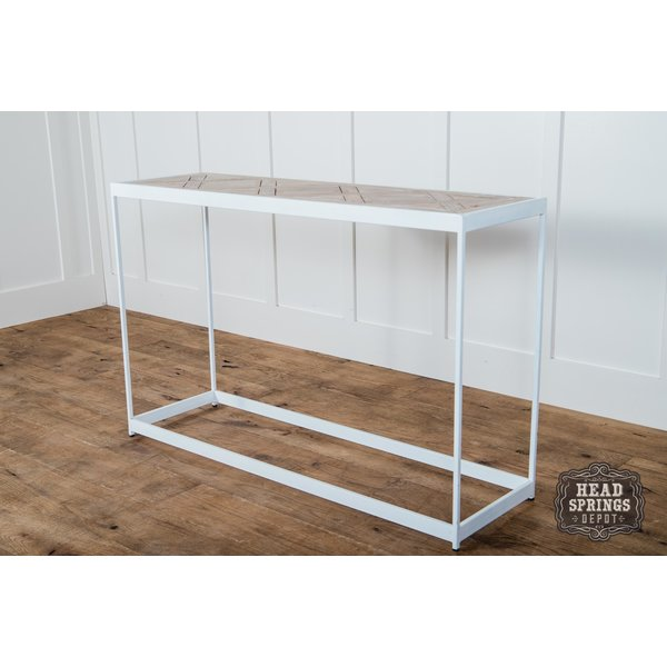 PQ Top Console Table White