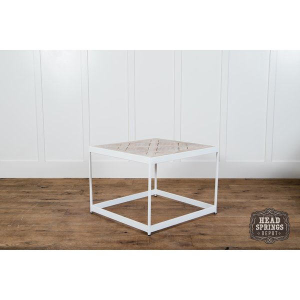 PQ Top Side Table White