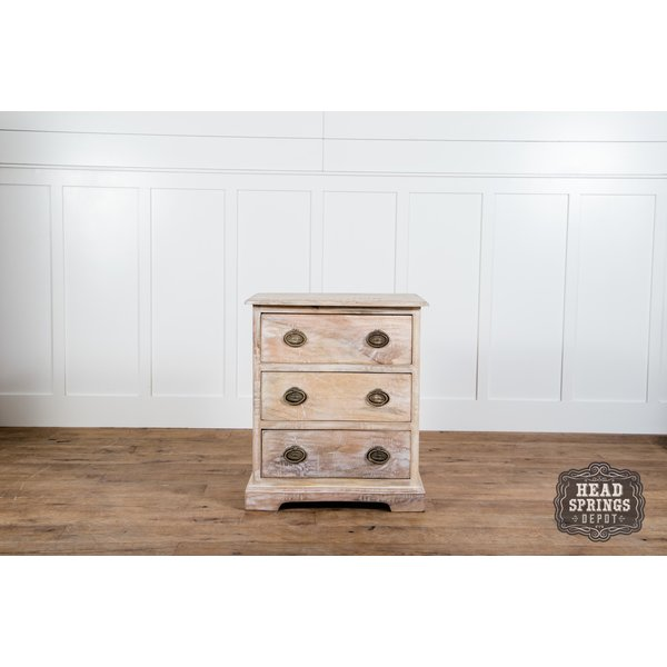 Martha Night Stand Limewash