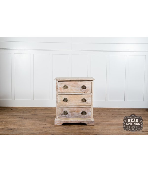 Fox & Roe Martha Night Stand Limewash