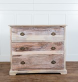 Fox & Roe Martha 3 Drawer Chest Limewash