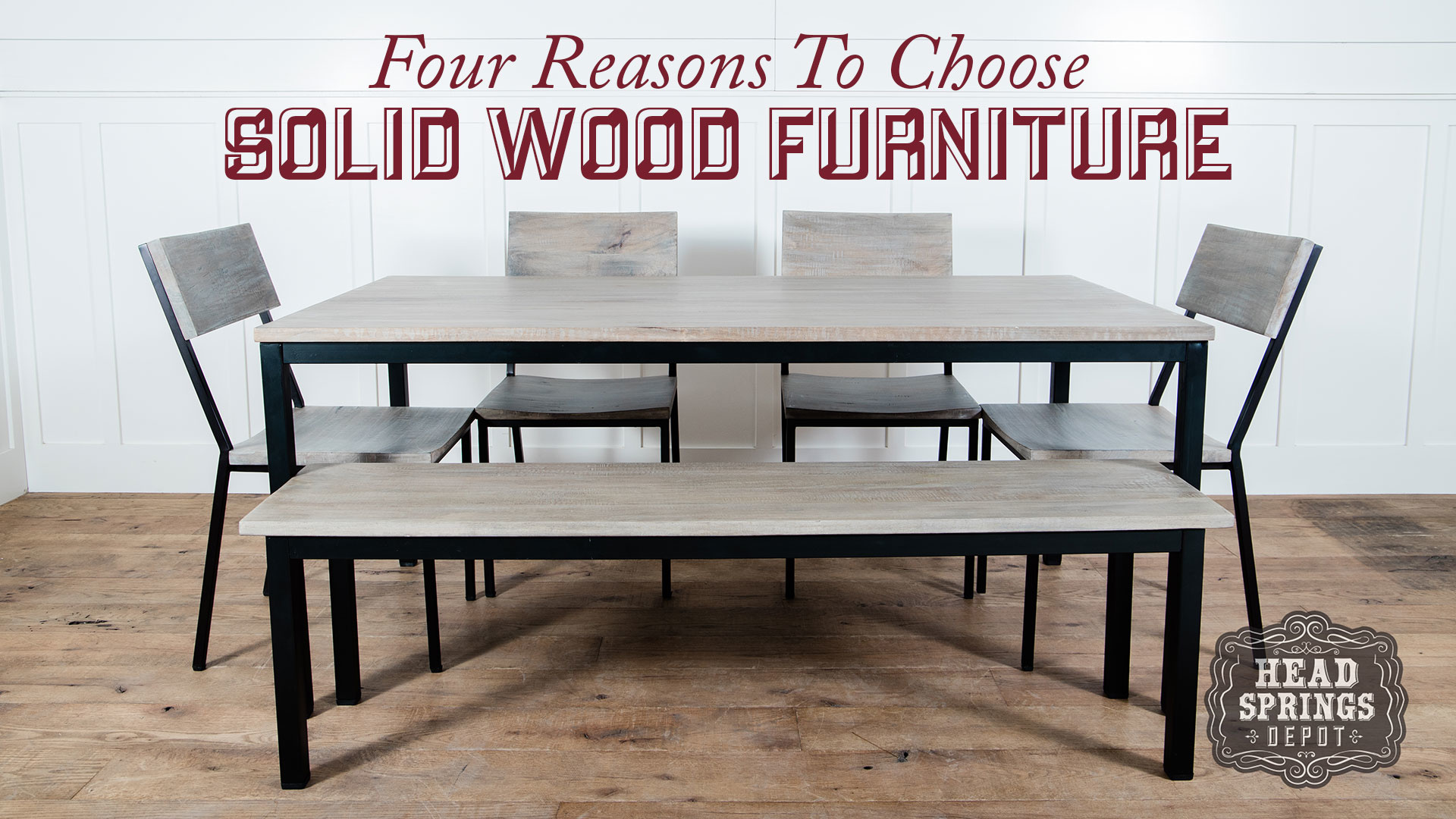 Four Reasons To Choose Solid Wood Furniture