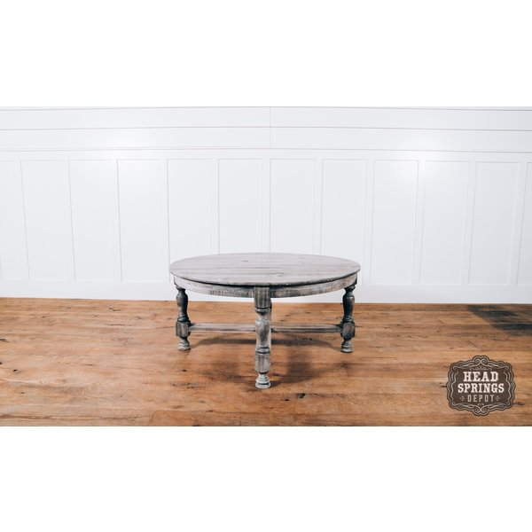 Farmhouse Tiffany Coffee Table Granite Finish MIC-681-CT