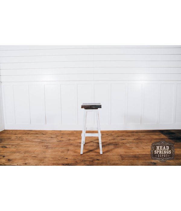 """Farmhouse by Head Springs Depot Farmhouse Curved Seat Bar Stool 30"""" Nash"""
