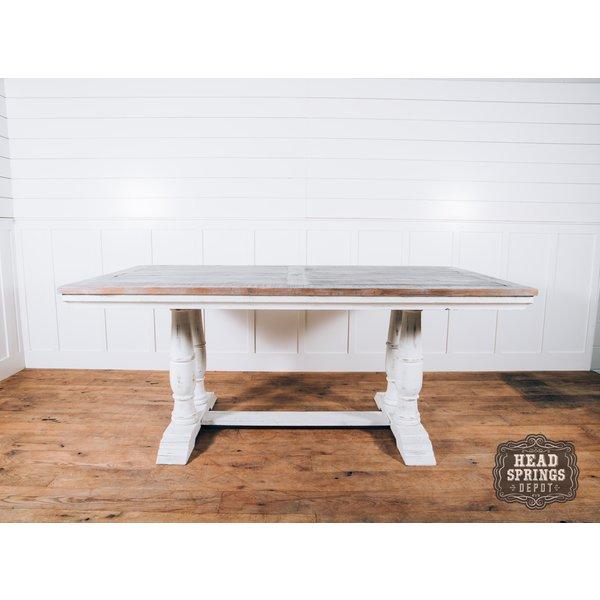 Farmhouse Tiffany Counter Height Table Nash Finish MIC-681-CHT