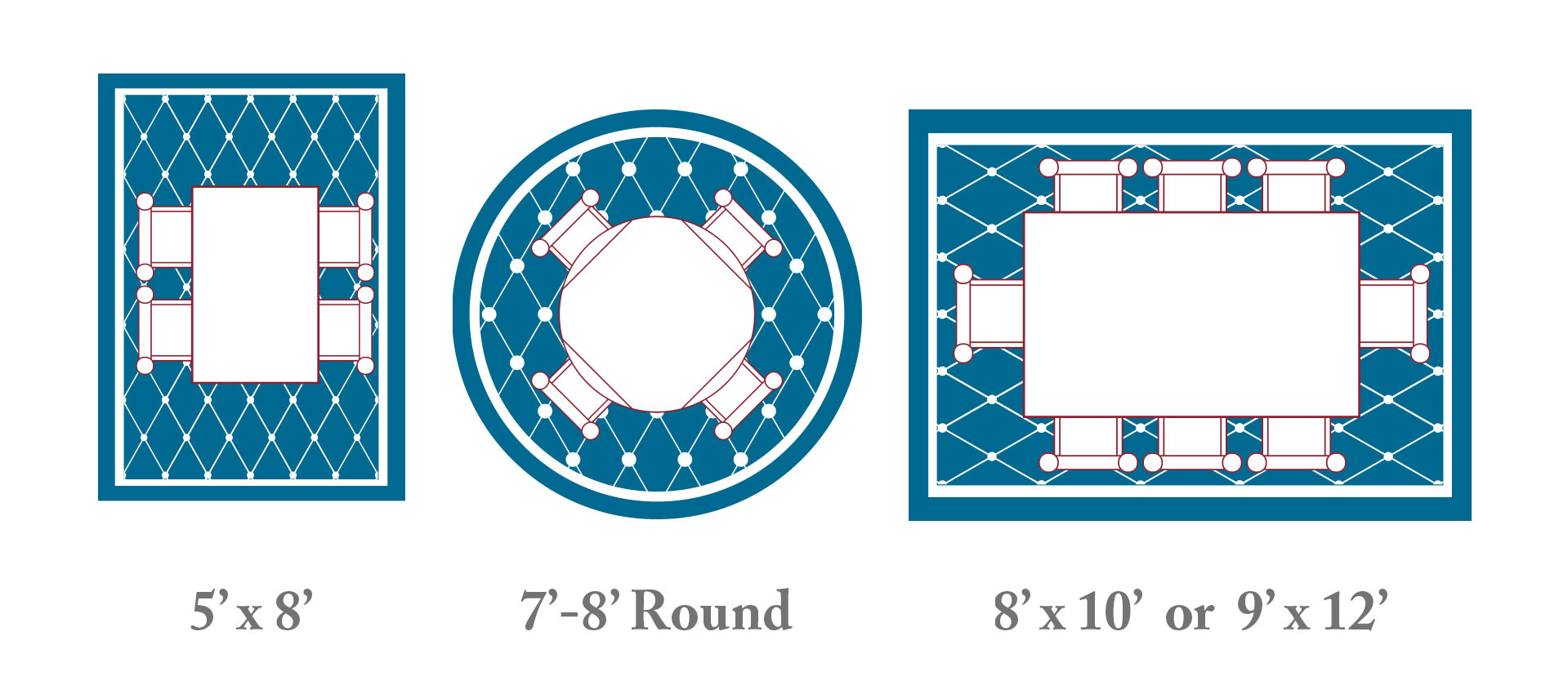 Dining Room Rug Layout Tips