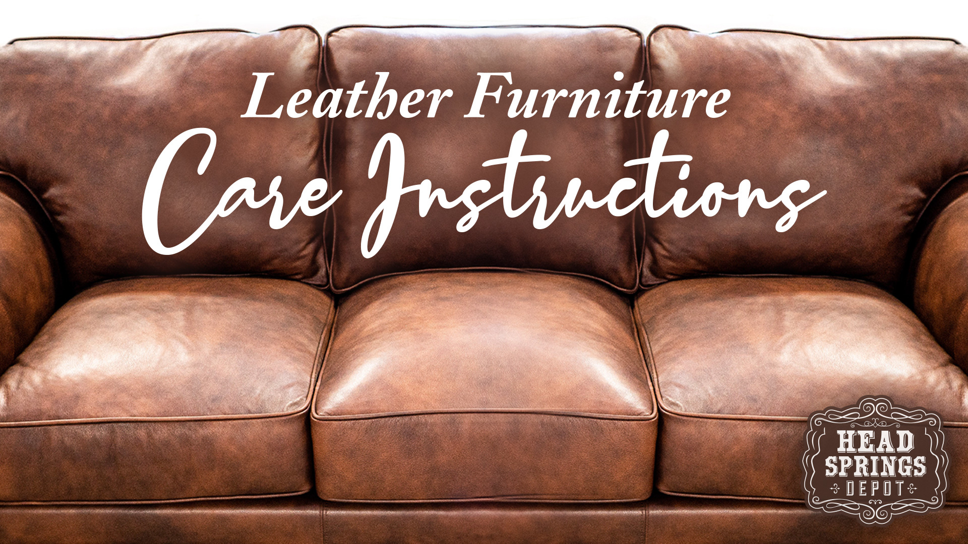Leather Furniture Care : Things You Didn't Know You Didn't Know