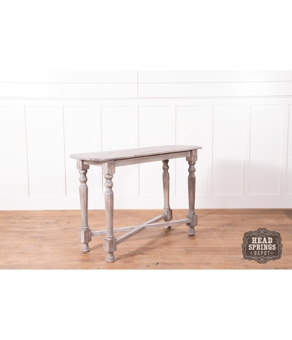 Farmhouse Tiffany Sofa Table Granite - Head Springs Depot, Inc
