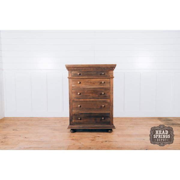 Saint James 5 Drawer Highboy Chest Theo Finish