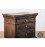 Fox & Roe Saint James 3 Drawer Night Stand Theo Finish