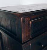 Farmhouse by Head Springs Depot The Rachel Chest of Drawers in Roasted Coffee w/ Flat Topcoat