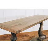 Fox & Roe McGill Console Table Salvage Grey
