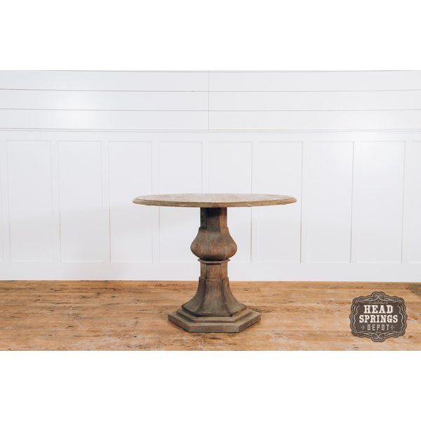 "Jolie MCL 48"" Round Table Light French Grey"