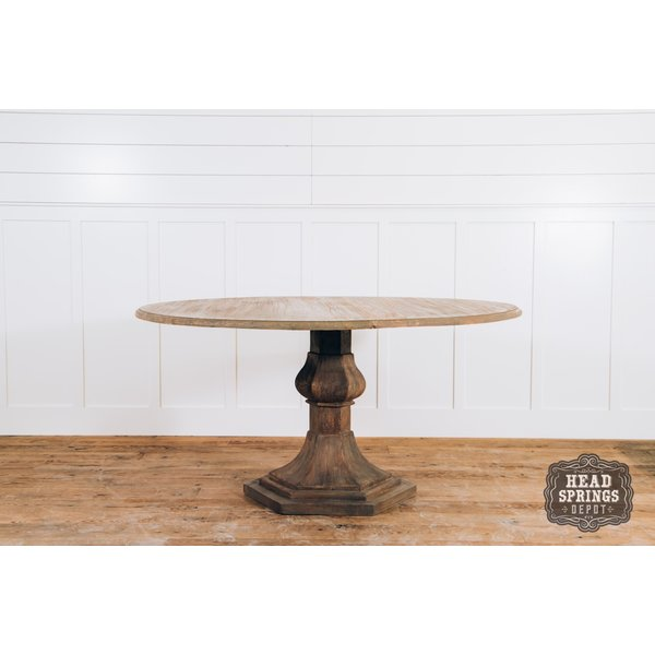 "Jolie MCL 60"" Round Table Light French Grey"
