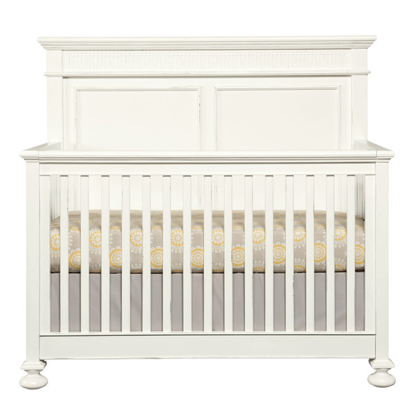 Stone & Leigh Furniture Smiling Hill-Built To Grow Crib -- Marshmallow Finish