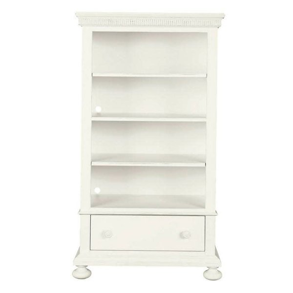 Stone & Leigh Furniture Smiling Hill Bookcase Marshmallow Finish