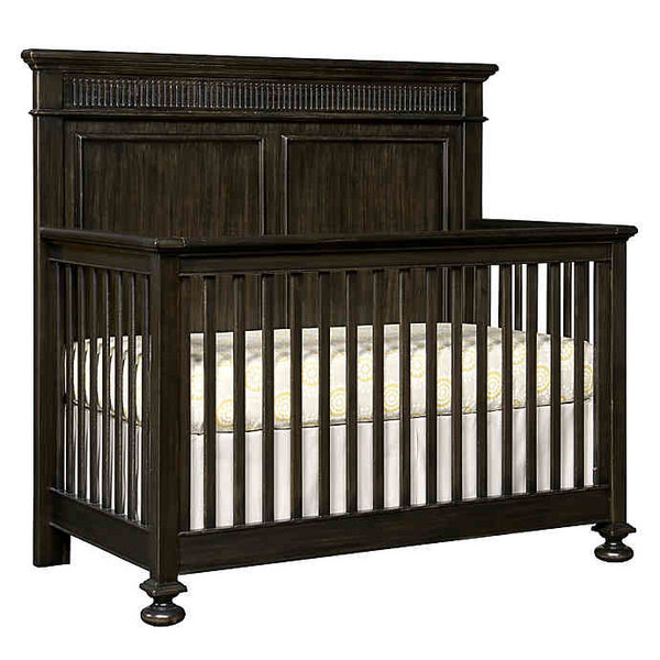 Stone & Leigh Furniture Smiling Hill-Built To Grow Crib -- Licorice Finish