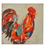 Crestview Red Rooster Art Print CVTOP1960