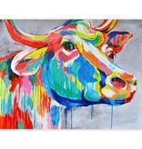 Crestview Big Ed Cow Art Print