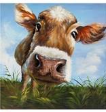 Crestview Hello Cow Art Print CVTOP1747