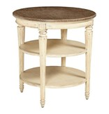 Stanley Furniture European Cottage Round End Table