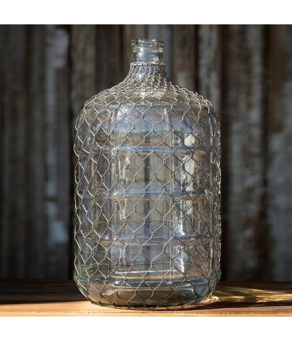 Park Hill Water Bottle With Poultry Wire