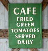 Park Hill Metal Fried Green Tomato Sign FH6046