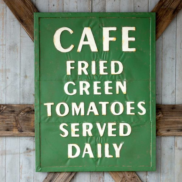 Metal Fried Green Tomato Sign FH6046