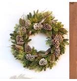 Park Hill Winter Evergreen Wreath
