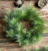 "Park Hill 24"" D. Greenhills Pine Wreath"
