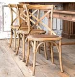 Park Hill Wooden Cross Chair NB051
