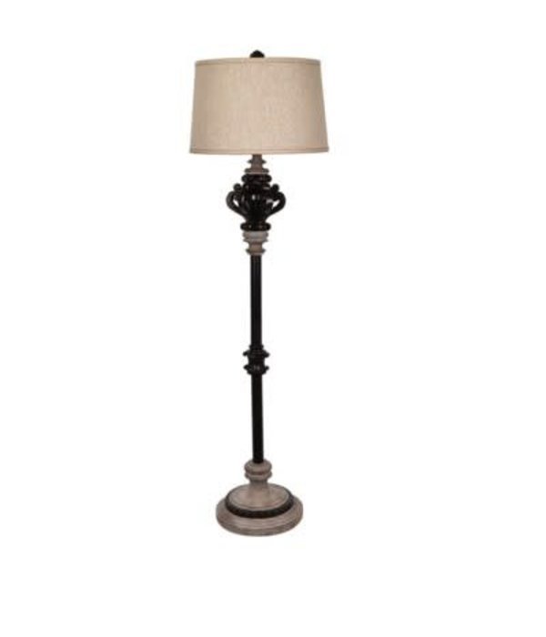 Crestview La Cour Floor Lamp