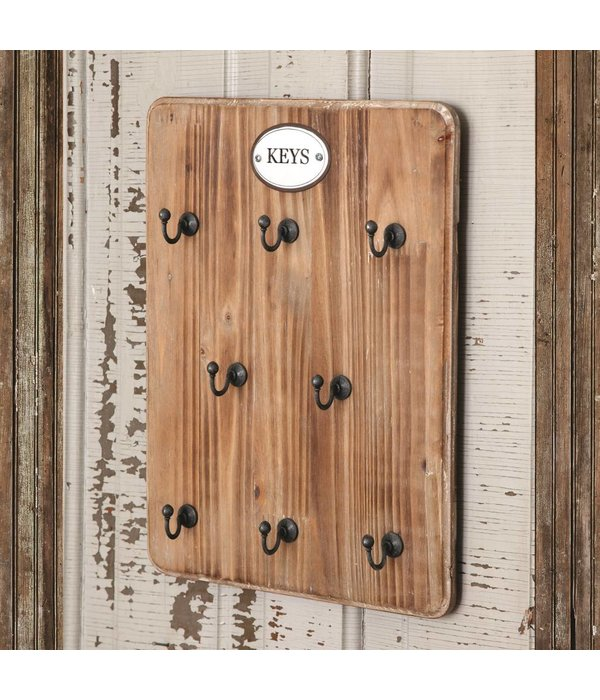 Park Hill Key Hook Board