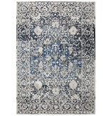 Rizzy Home Rizzy Rug Panache PN6956 Light Taupe / Blue 5'3'' x 7'6''