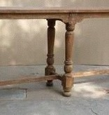 Pink City Industries 6 Leg Console Vintage Finish Console
