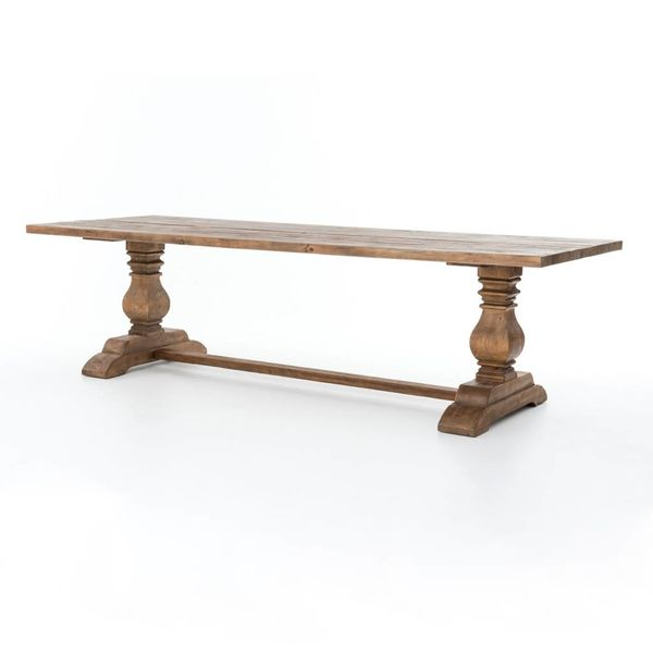 Four Hands Durham Dining Table 87""