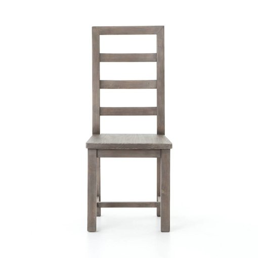 Four Hands Post and Rail Dining Chair in Sundried Ash