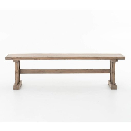 Four Hands Four Hands Tuscan Spring Dining Bench Sundried Wheat