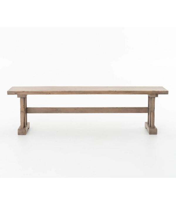 Four Hands Four Hands Tuscan Spring Dining Bench Sundried Wheat VTUD-06-10