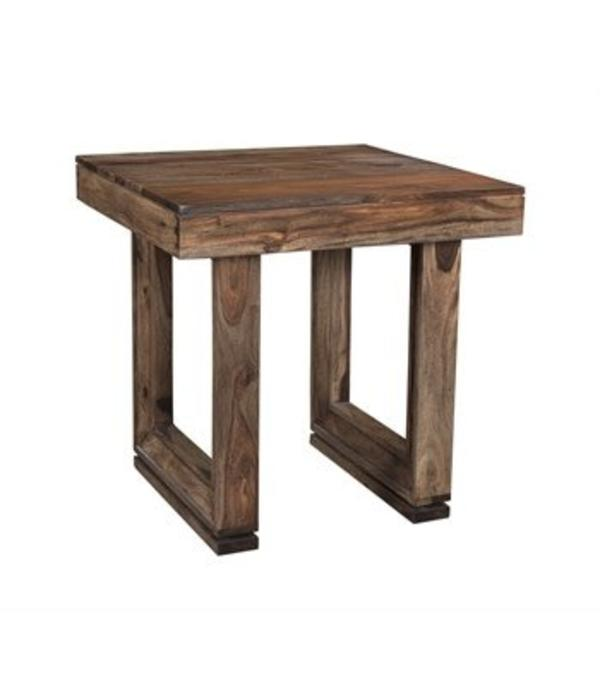 Coast to Coast Brownstone Nut Brown End Table 98238