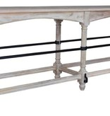 Pink City Industries 8 Foot 6 Leg Console Light French Gray