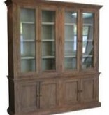 Fox & Roe Head Springs Large Buffet & Hutch in Mango with Vintage Finish