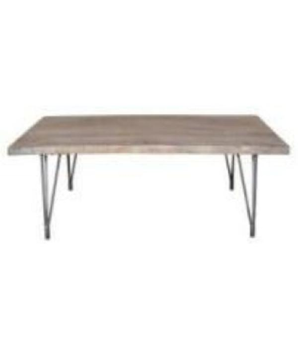 Pink City Industries Eiffle Coffee Table Mango Burnt White Natural