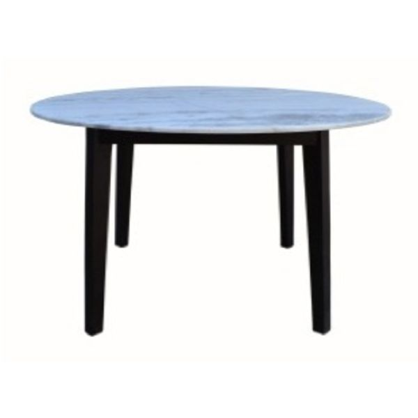 Marble Top Round Dining Table Mango DBO
