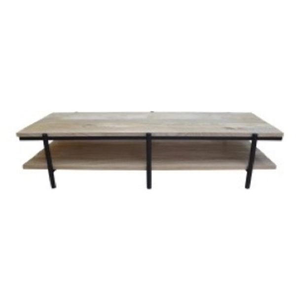 Coffee Table Mango Natural Black