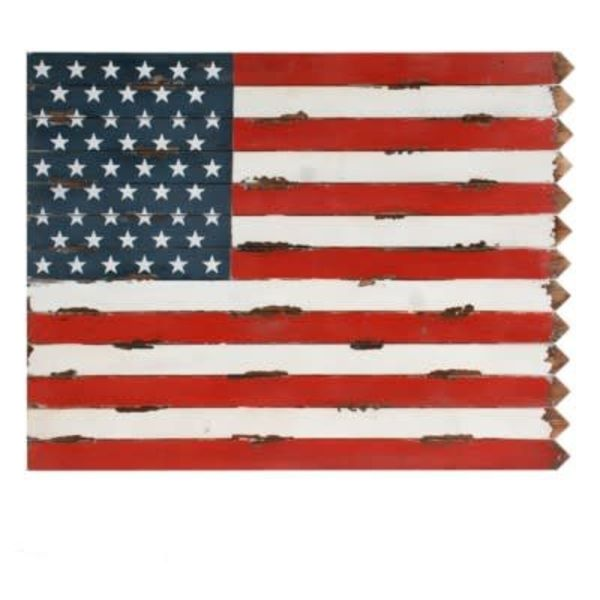 """USA""  Wooden Wall Décor"