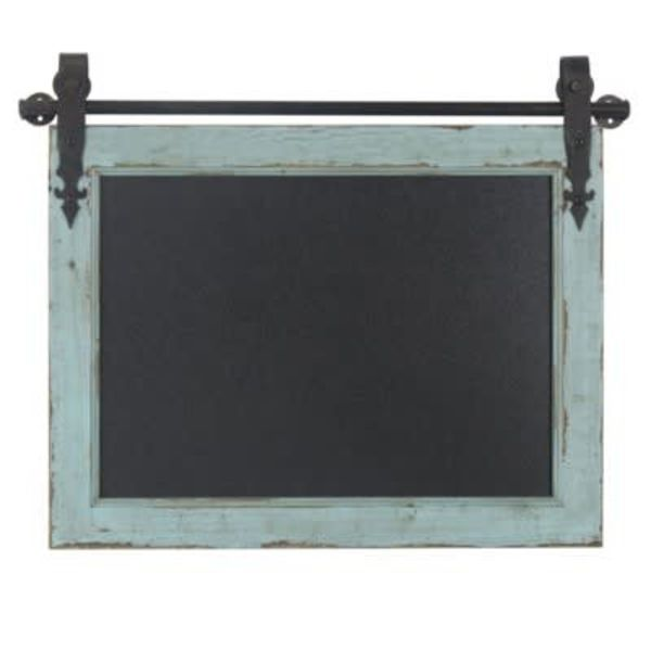 Noted Wooden Barn Wood Chalk Board CVTWA1460