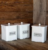 Park Hill Provision Canisters Set of 3  FH7328
