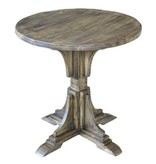 Crestview Bengal Manor Mango Wood Accent Table CVFNR319