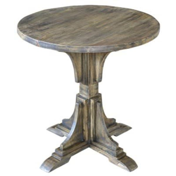 Bengal Manor Mango Wood Accent Table CVFNR319
